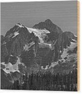 Mt. Shuksan Wood Print