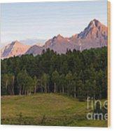Mt. Sneffles Wood Print