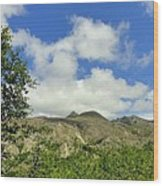 Mt St Helens 2 Wood Print