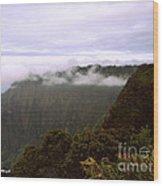 Mt Waialeale Wood Print