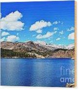 Mtn Lake Bliss Wood Print