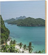 Mu Ko Ang Thong Marine National Park Wood Print