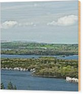 Muckross Lake From Atop Torc Waterfall 2 Wood Print