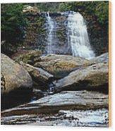 Muddy Creek Falls 2 Wood Print