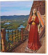Mujer De La Piedra Wood Print