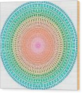 Multicolor Circle Wood Print by Atiketta Sangasaeng