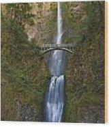 Multnomah Falls 2 Wood Print