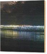 Munro River Reflections 2 Wood Print
