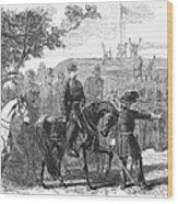 Munsons Hill, 1861 Wood Print