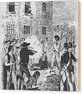 Murder Of Smith, 1844 Wood Print by Granger