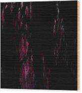 Murdered Wood Print