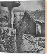 Muros Rice Storage 1982 Wood Print