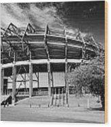 Murrayfield Stadium Edinburgh Scotland Rugby Wood Print