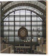 Musee D'orsay's Clock Wood Print
