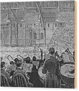 Music Festival, 1881 Wood Print
