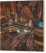 Music Studio Wood Print