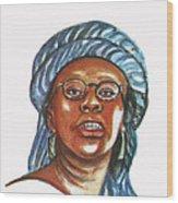 Musimbi Kanyoro Wood Print