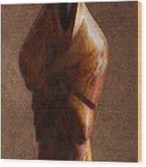 Muslim Figurine Wood Print