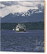 Mv Kaleetan Ferry Wood Print