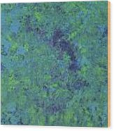 My Blue Heaven Wood Print