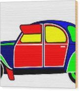 My Dream Car Wood Print