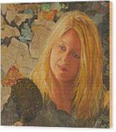 My Face At 50 Wood Print