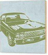 My Favorite Car 5 Wood Print