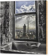My Favorite Channel Is Manhattan View Wood Print by Madeline Ellis