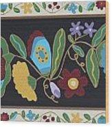 My Flower Garden Wood Print by Marilyn West