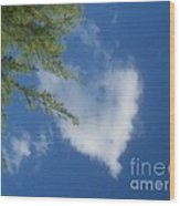 My Heart - Ile De La Reunion Wood Print