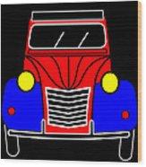 My Next Car En Face  Wood Print