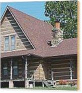 My Old Kentucky Home Wood Print