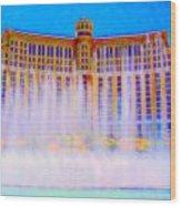 My Vegas Bellagio 2 Wood Print