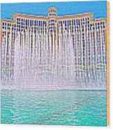 My Vegas Bellagio 4 Wood Print