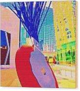 My Vegas City Center 31 Wood Print