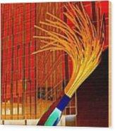 My Vegas City Center 32 Wood Print by Randall Weidner