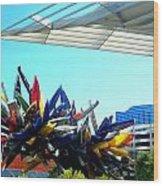 My Vegas City Center 58 Wood Print