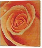My Wonderful Rose Wood Print