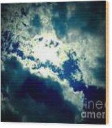 Mysterious Sky Wood Print