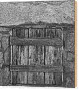 Mystery Door Wood Print