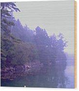 Mystery Island Wood Print