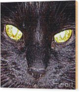 Mystic Eyes Wood Print