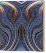 Mystic Ghost Wood Print