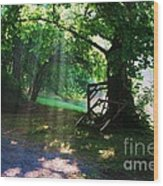 Mystic Tree Wood Print