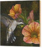 Mystical Flight Wood Print