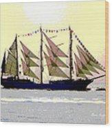 Mystical Voyage Wood Print