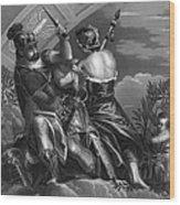 Mythology: Ares Wood Print by Granger