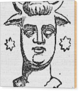 Mythology: Baal Wood Print