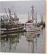 Nafco Fishing Boat Wood Print