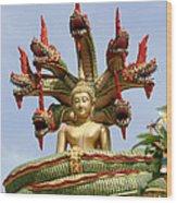Naga  Wood Print by Adrian Evans